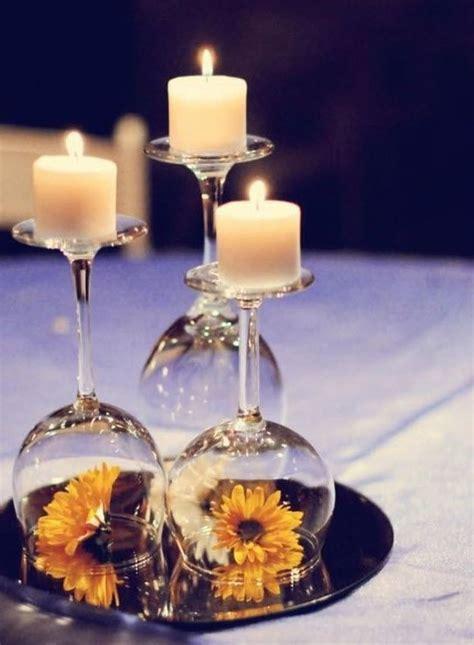 12 Wedding Centerpiece Ideas From Pinterest Wine Glass