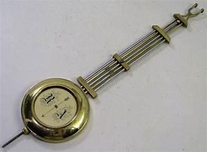 Antique Brass Ra German Regulator Wall Clock Pendulum