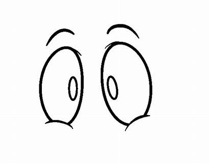 Coloring Eye Pages Human Eyes Cartoon Getcoloringpages