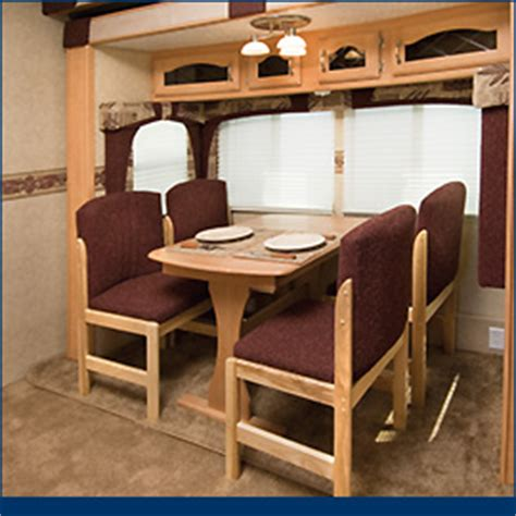 rv dinette table chairs