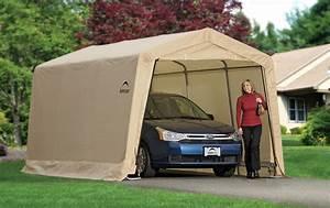 Carport Vor Garage : portable car garage shelters the best portable carport ~ Lizthompson.info Haus und Dekorationen