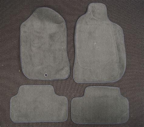 saturn ion floor mat set pcs  charcoal gray carpet averys