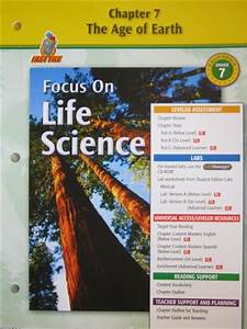 Focus on Life Science Chapter Resources 7 (CA)(P ...