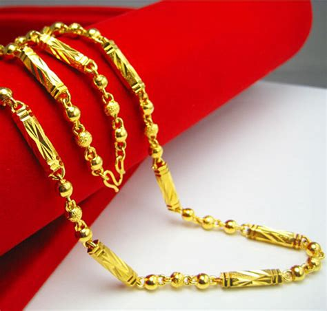 Aliexpress.com : Buy Solid 24k Yellow Gold Filled Mens