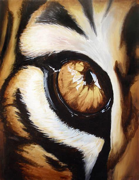 tigers eye painting  lane owen