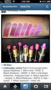 Drugstore purple lipsticks | Beauty 101 | Pinterest ...
