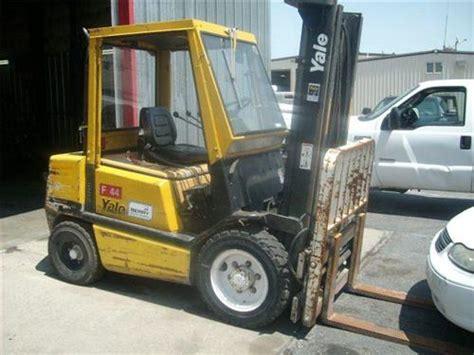yale lb forklift stacker loader picker diesel power