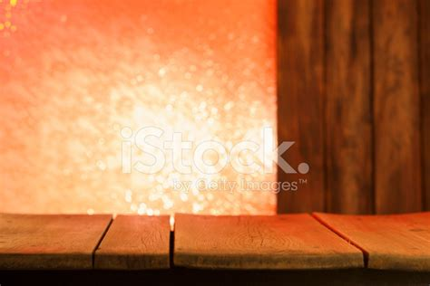 Old Wooden Kitchen Table Background Stock Photos