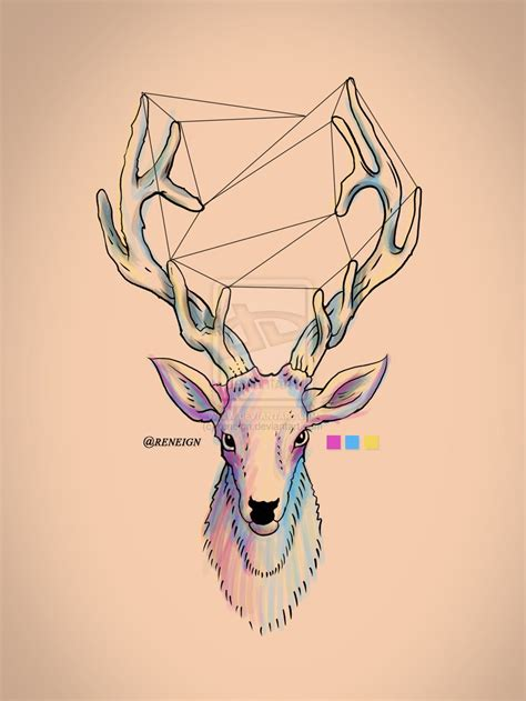 Deer Draw Pesquisa Google Everything Cool Art