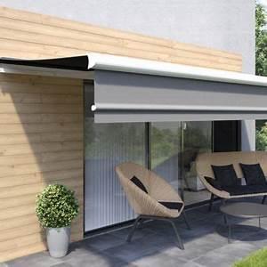 Store Banne Manuel Balcon : store de terrasse castorama ~ Premium-room.com Idées de Décoration