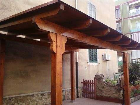 realizzazione tettoia in legno fai da te hobby legno tettoia
