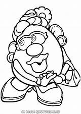 Potato Coloring Head Mr Pages Printable Fun Potatoes Mrs Colouring Heads Cartoon Poppy Potatohead Cartoons Colors Drawings Printables Ratings Yet sketch template