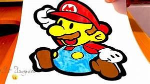 How to Draw Super Mario EASY | #MrUsegoodART - YouTube