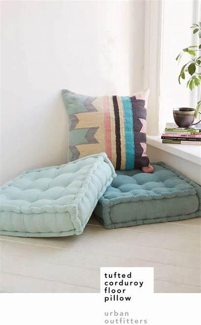 Floor Seating Cozy Pillow Urban Corduroy Crush