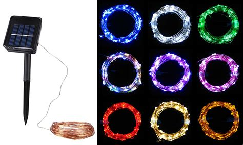 solar powered led string lights led string lights gflai