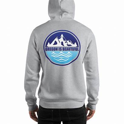 Oregon Hooded Sweatshirt Blend Heavy Sweatshirts Hoodies