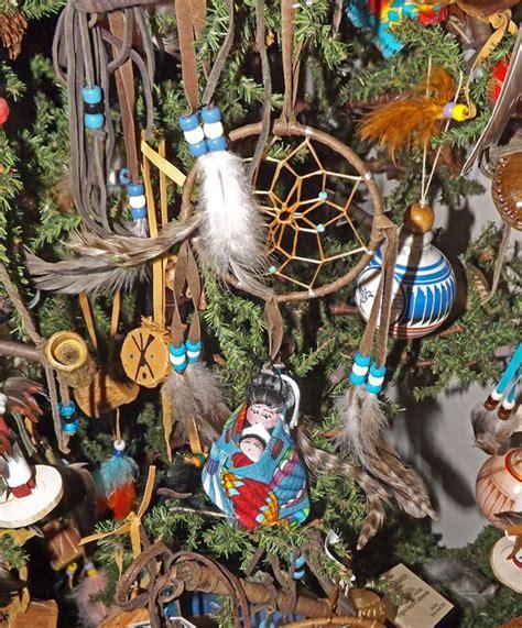 native american christmas ornaments bohemian holiday