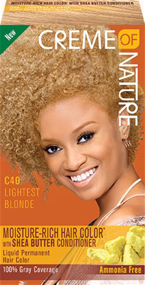 What Is The Lightest Hair Dye by Lightest Creme Of Nature