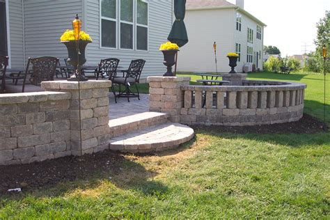Uniblock Wall by Landscapes Complete Inc Pictures Ideas