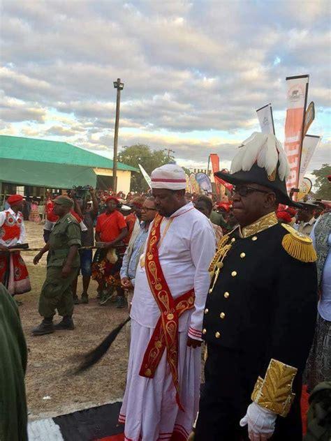 litunga  grace kulamba ceremony zambia reports