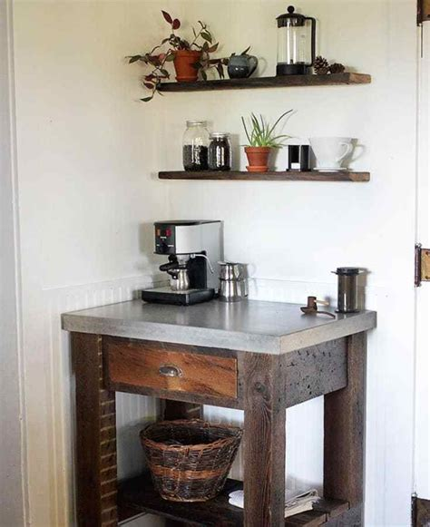 Which one is your favorite? 50 DIY Coffee Bar Ideas inside the Home for Coffee Enthusiast
