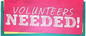 Wanted Volunteer Clipart