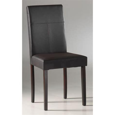 chaises de salle a manger chaise de salle a manger en cuir pas cher