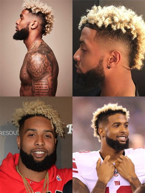 odell beckham jr haircut features   style mens