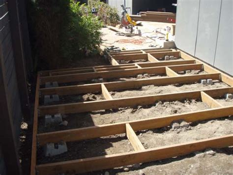 floating deck vs footings precast concrete piers car interior design