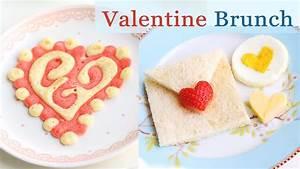 Valentine Pancakes & Breakfast Ideas - YouTube