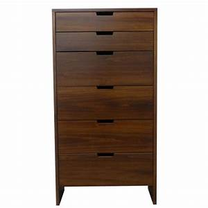 Queue 6 Drawer Chest - Creative Home Furnishings