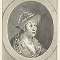 Portret van keizer Adolf VII van Nassau, in ovaal, naar ...