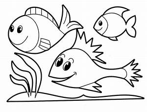 Fish Coloring Pages For Kids - AZ Coloring Pages