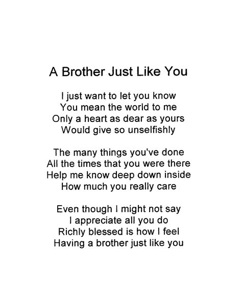 brother poems ideas  pinterest big brother