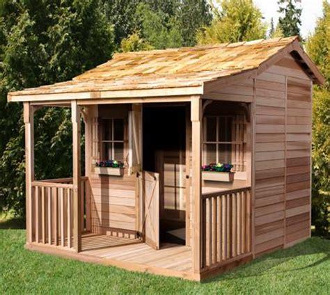 kids bunkhouse kits cottage bunkie plans small prefab designs cedarshed usa