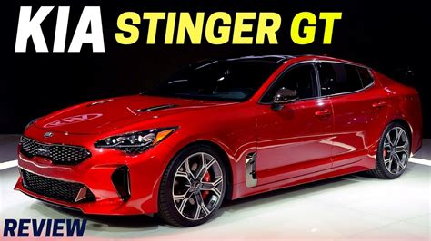 New 2018 Kia Stinger Gt Specs First Look (255 Horsepower