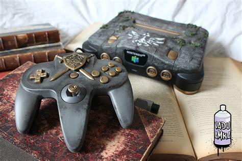 Custom Legend Of Zelda Relic Nintendo 64 Created