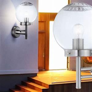 Led Lampen Außenbereich : led wandleuchte aus edelstahl f r den au enbereich lampen m bel au enleuchten wandleuchten ~ Buech-reservation.com Haus und Dekorationen
