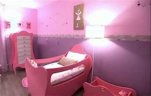 Couleur Chambre Bébé Fille : couleur de peinture pour chambre fille ~ Dallasstarsshop.com Idées de Décoration