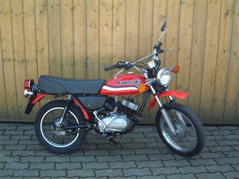 Kawasaki Km 100 by Umgebautes Motorrad Kawasaki Km 100 A Motorrad Holzner