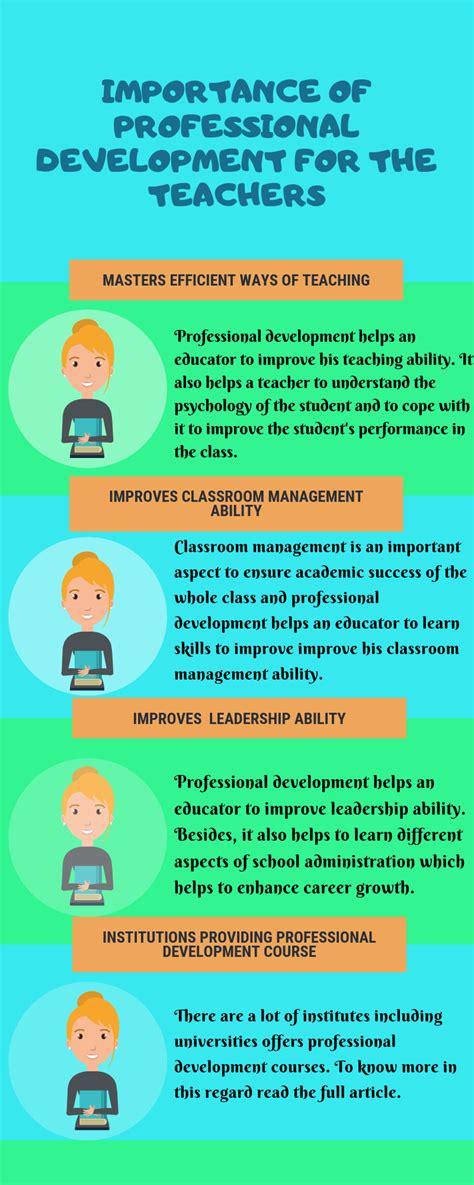 importance  professional development   teaching