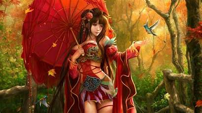 Oriental Fantasy Wallpapers Japanese Asian Chinese Background