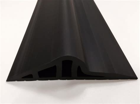 30mm Black Rubber Garage Door Floor Seal   JA Seals