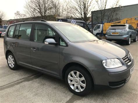 Vw Touran Verkaufsinserat by Vw Touran 2006 1 9 Tdi Se Diesel One Previous Owner