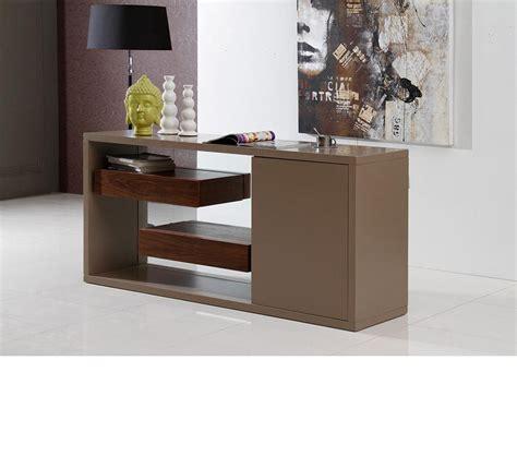 dreamfurniturecom levi contemporary buffet  floating shelves