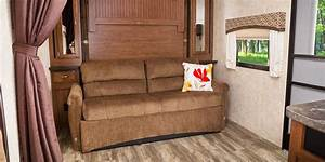 2017 white hawk travel trailer jayco inc With travel trailer sofa bed
