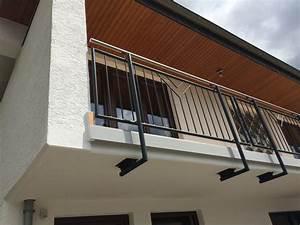 Balkongeländer Glas Anthrazit : schlosserei erhard g tz balkongel nder in stahl ~ Michelbontemps.com Haus und Dekorationen