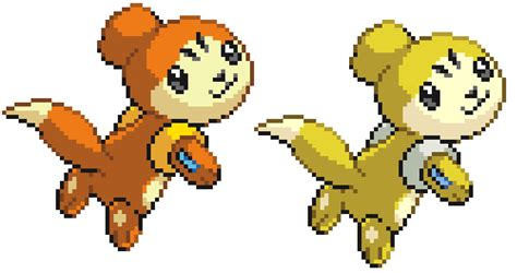 Buizel Pre-evolution Sprite. By Britishstarr On Deviantart