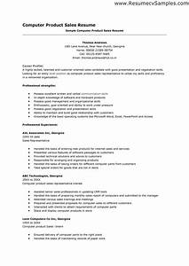 Computer proficiency resume skills examples http www for Computer resume template