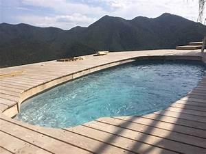 Peinture Pour Piscine : renovation piscine en peinture epoxy elite piscine ~ Nature-et-papiers.com Idées de Décoration